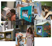 Little free libraries image