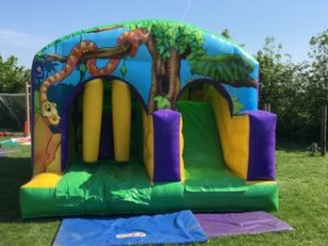 Bouncy Castle at the Station