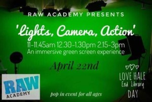 Green Screen with Raw Academy