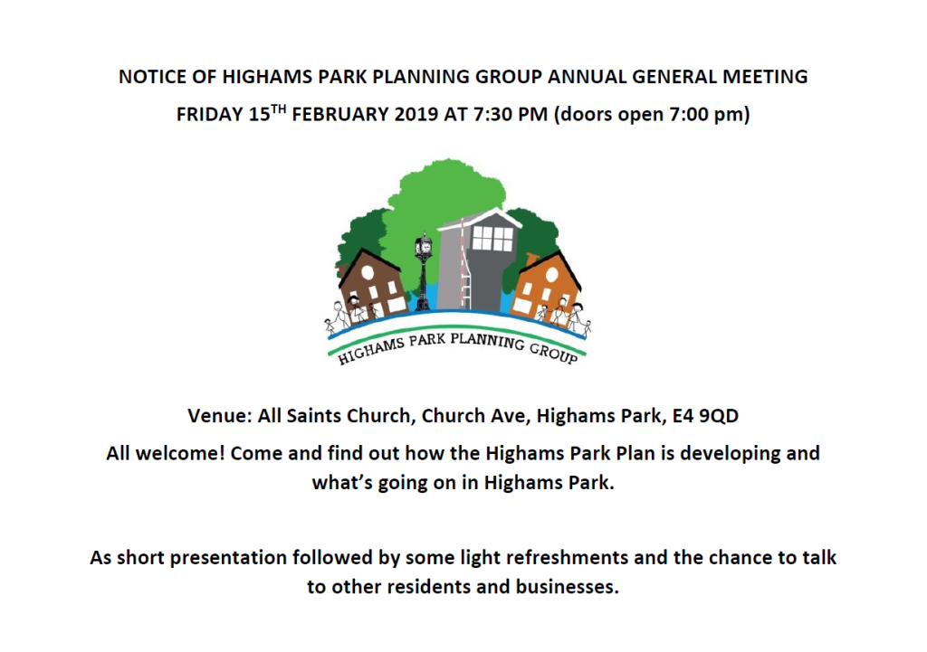 Notice of HPPG AGM 2019