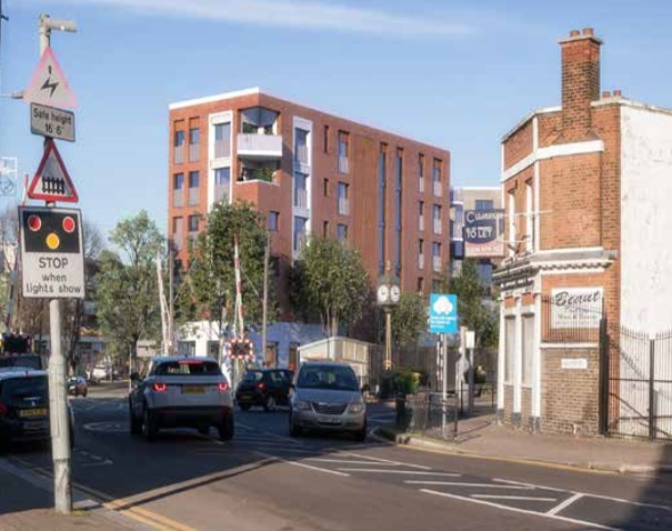 HPPG has objected to the planning application for 480-510 Larkshall Road